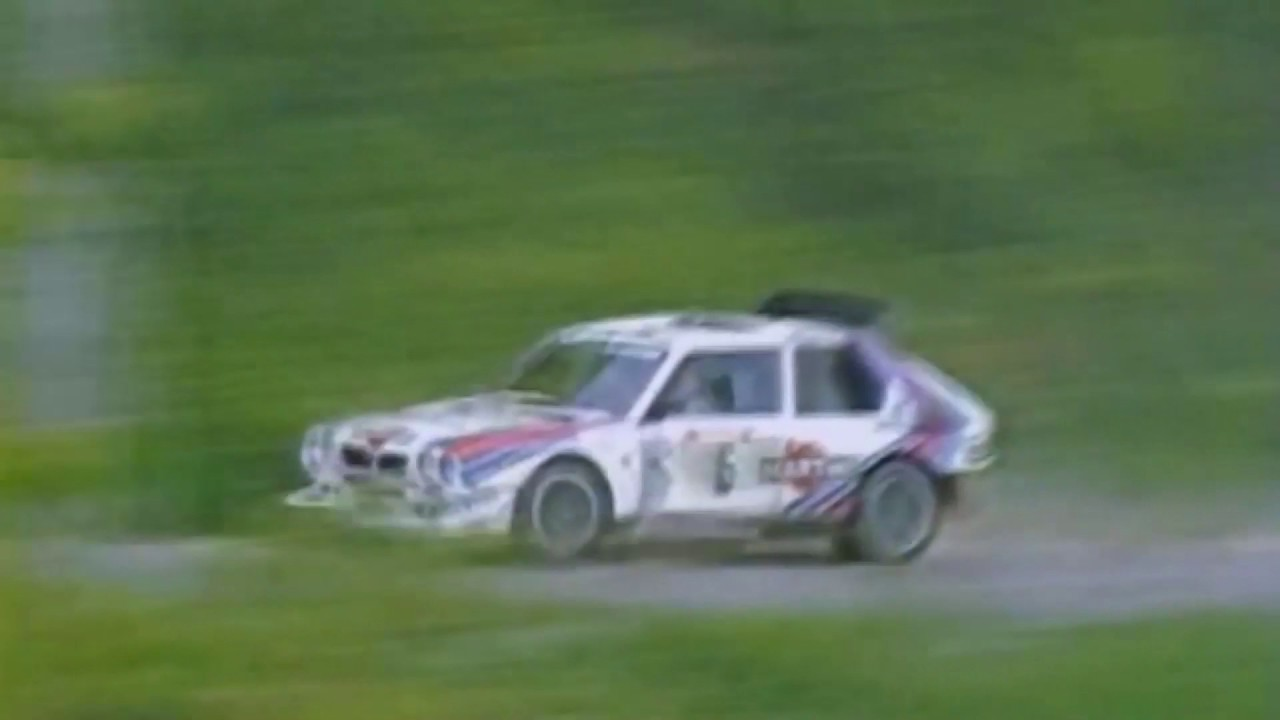 The Ultimate Group B Rally Car - Lancia Delta S4 Natural Sounds ...