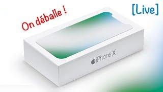 Déballage de l'iPhone X