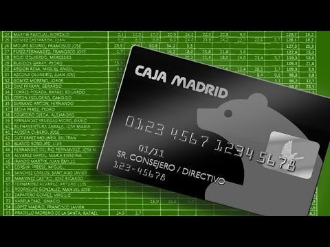 Esc ndalo de las tarjetas 39 b 39 de caja madrid youtube - Caja de arquitectos madrid ...