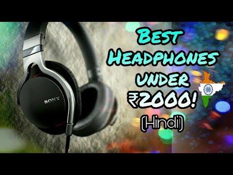 (Hindi)Top 5 BEST BASS Headphone under Rs 2000! | Sony Extra Bass, Sennheiser, JBL, Audio-Technica |