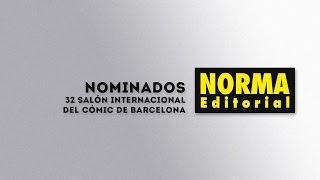Obras nominadas 32 Salón del Cómic 2014