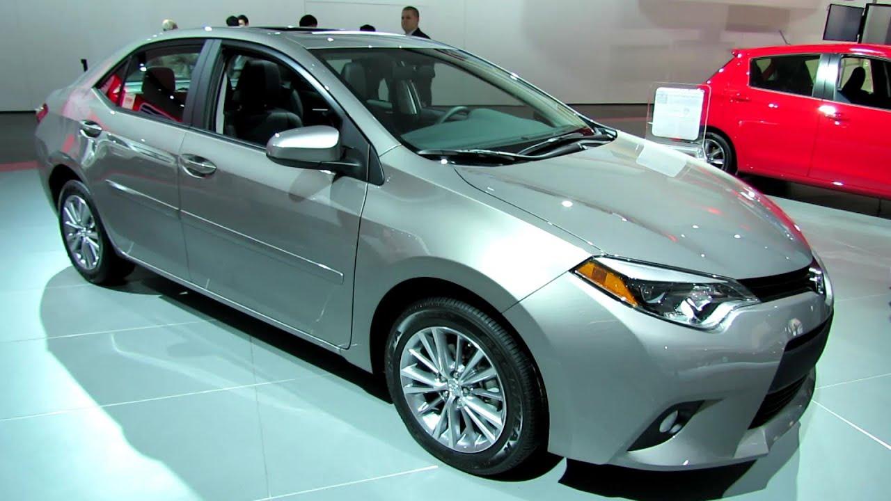2014 toyota corolla le exterior and interior walkaround 2014 detroit auto show