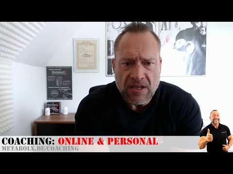 Kurz aus dem Büro - Live - Thema Bodybuilding und Coaching