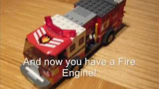 How to make a Lego Fire Engine (100 Subs Special Part 2)