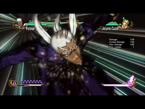 JoJo's All Star Battle: Pucci Move Set - HD
