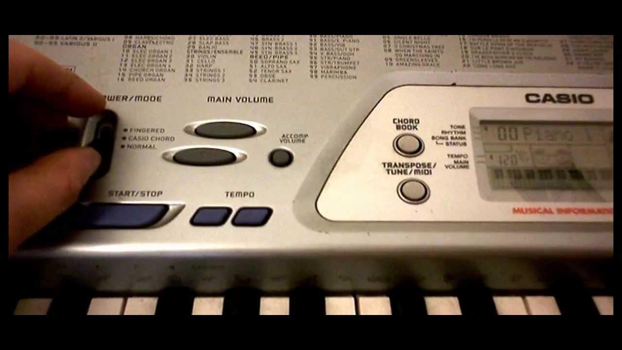 CASIO CTK-491 MIDI WINDOWS 7 64 DRIVER