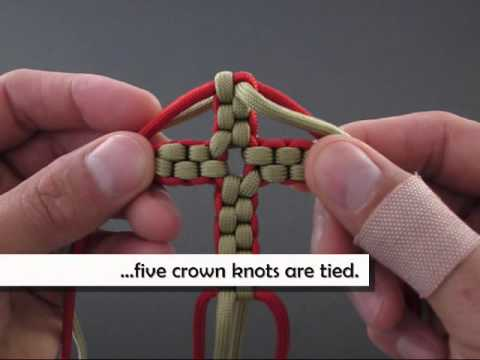 How to Make a Paracord Cross (Necklace) by TIAT