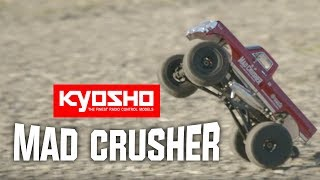 SEE IT IN ACTION! Kyosho Mad Crusher GP 1/8 Nitro Monster Truck