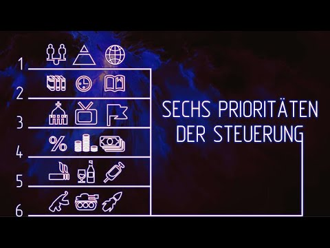 Sechs Prioritäten zur Steuerung der Menschheit