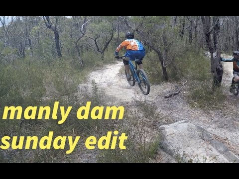 MANLY DAM mtb ( double black)(Greek gap)