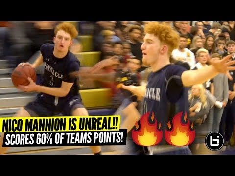 Nico Mannion Is UNREAL!! Scores Over HALF of Team's Points & TAKES OVER GAME!!