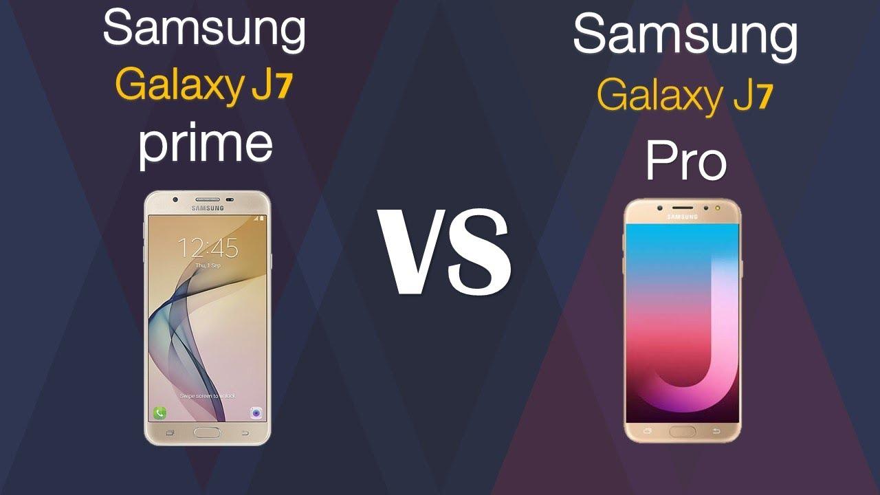 f30a51c41 Samsung Galaxy J7 prime VS Samsung Galaxy J7 PRO - YouTube
