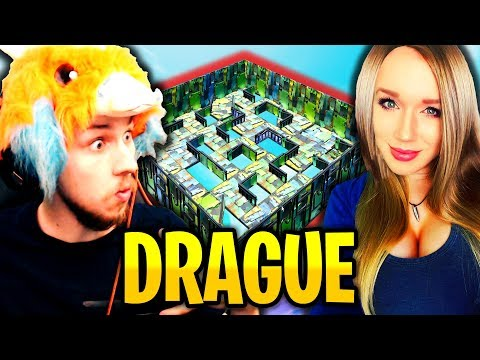 CETTE FILLE ME DRAGUE PENDANT CE MODE DE JEU A TROU SUR FORTNITE BATTLE ROYALE !!!