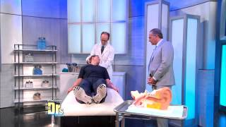 Dr Travis Stork Suffers Vertigo Live on Stage - The Drs - Feb 2015
