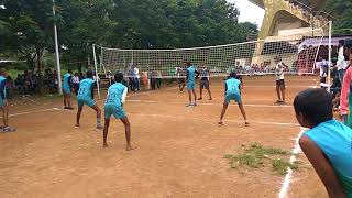 Priyadarshani U17 boys volleyball match... awesome match...
