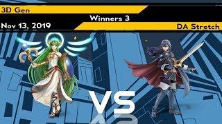 [Smash Ultimate] Xeno187 (Winners 3) - 3D Gen vs DA Stretch