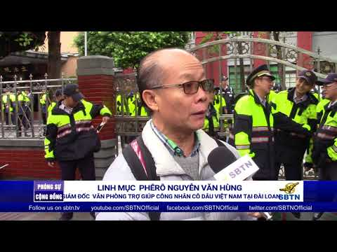 PHÓNG SỰ CỘNG ĐỒNG: Phản đối sửa đổi luật lao động lần 2 tại Đài Loan
