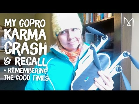 GoPro Karma Drone Crash, Recall & ReBoxing + Memorial Video
