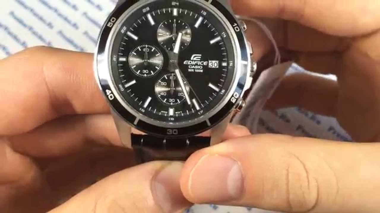 часы casio efr-527d-1a инструкция