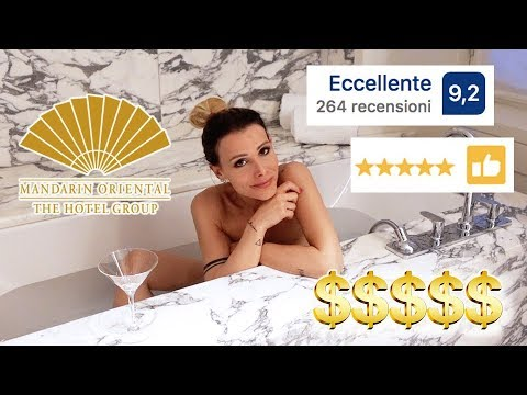 HO PASSATO LA NOTTE AL MANDARIN ORIENTAL HOTEL A MILANO !!! A PARTIRE DA € 1000,00 A CAMERA !!!