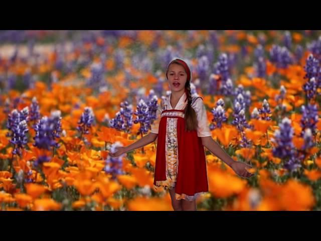 Улитина Валентина читает произведение «Полевые цветы» (Бунин Иван Алексеевич)