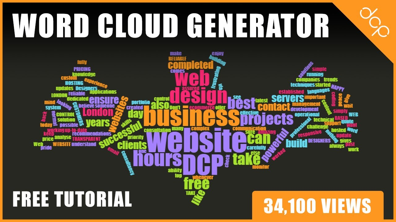 Word Cloud Generator - Make Word Clouds For FREE ! Within Free Word Collage Template
