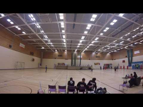 Liverpool V Newcastle Vikings Handball
