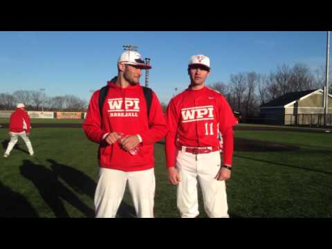 WPI Baseball Post-Game Interview and Tennis Match