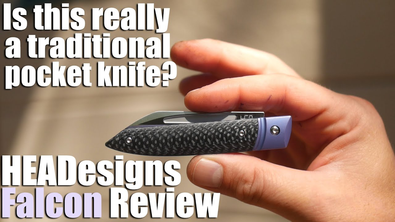 Is this really a traditional pocket knife?  The HEADesigns Falcon slipjoint review.