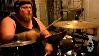 In The Air Tonight (NONPOINT) - Fat Sam Drum Cover