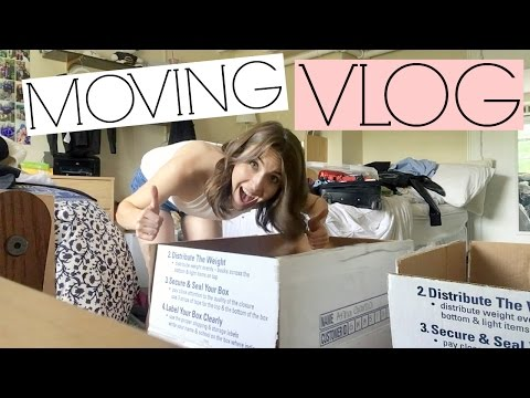 VLOG: Moving to New York