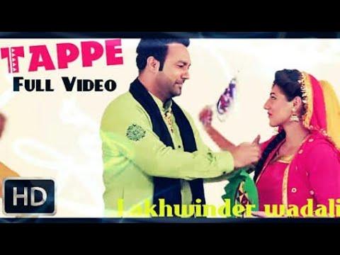 TAPPE PART 2 LAKHWINDER WADALI SONG STATUS VIDEO