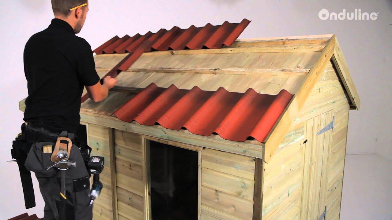 V deo instalaci n teja ligera onduvilla for Leroy merlin tettoie