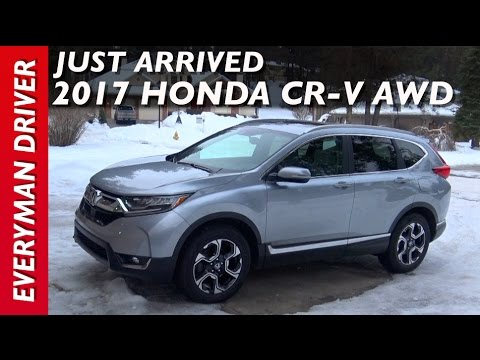 Just Arrived: 2017 Honda CR-V AWD on Everyman Driver
