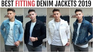 Gambar cover BEST FITTING DENIM JACKETS FOR MEN 2019 | River Island, New Look & More | Men's Fashion
