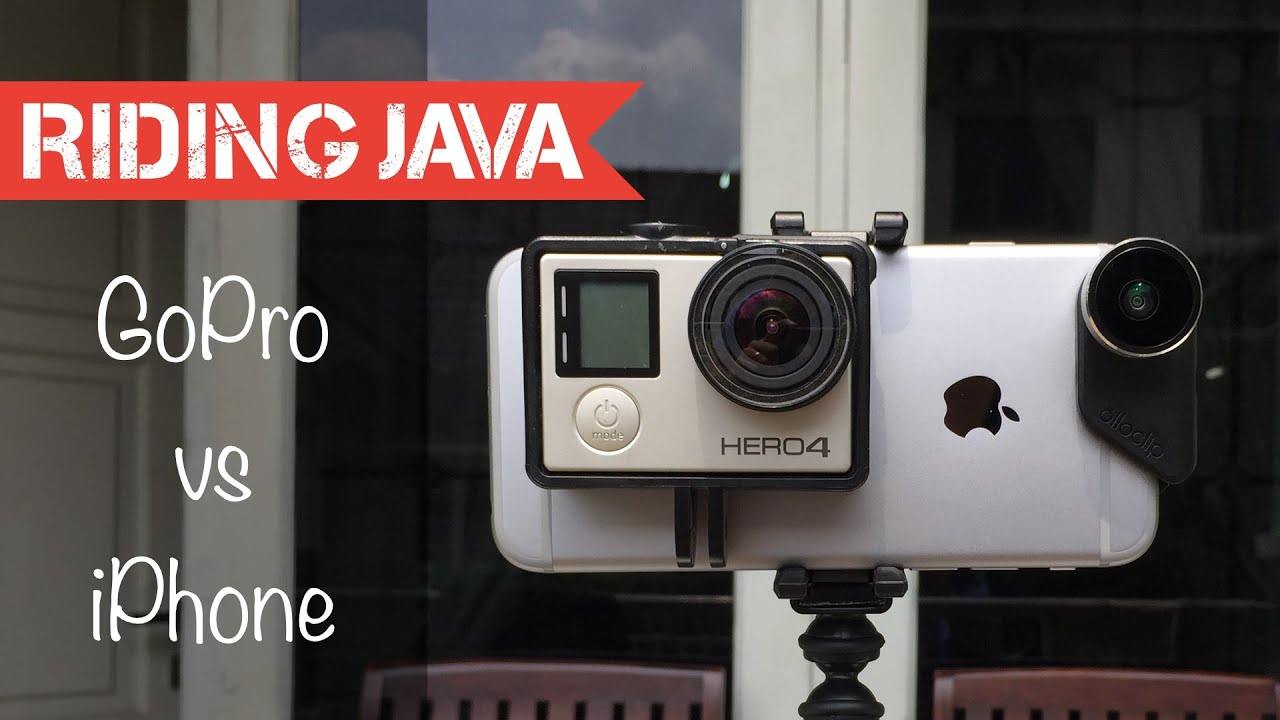 olloclip iphone 6 vs gopro hero 4 silver youtube. Black Bedroom Furniture Sets. Home Design Ideas