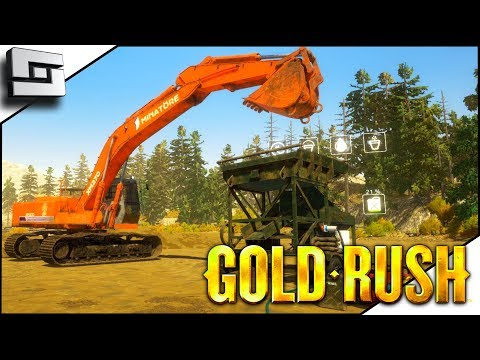 MOBILE WASH PLANT GETS GOLD! Gold Rush Gameplay E3