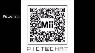 Hacked Mii Name QR Codes