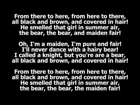 The Bear and the Maiden Fair (with lyrics) by Hold Steady (Game of Thrones, Season 3, Episode 3)