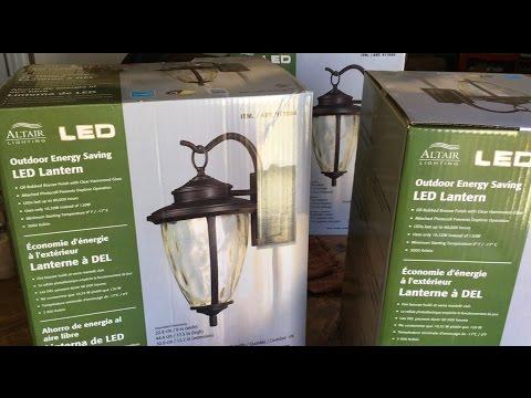 How To Install Outdoor Light Fixture