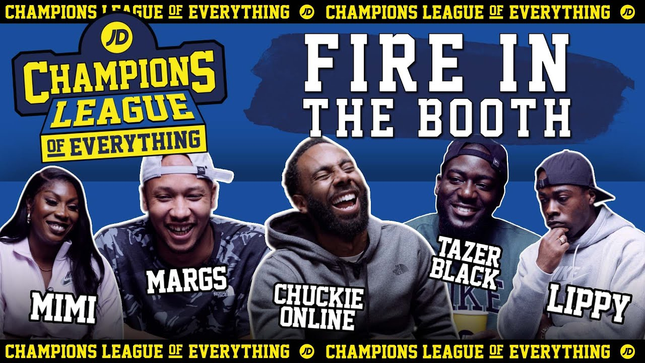 WHO HAS THE GREATEST EVER FIRE IN THE BOOTH????!?!?!?! | CHAMPIONS LEAGUE OF EVERYTHING