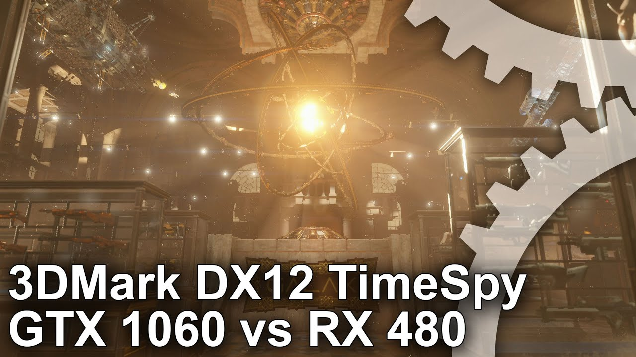 3DMark's DX12 bench analysed: GTX 1060 vs RX 480 • Eurogamer net