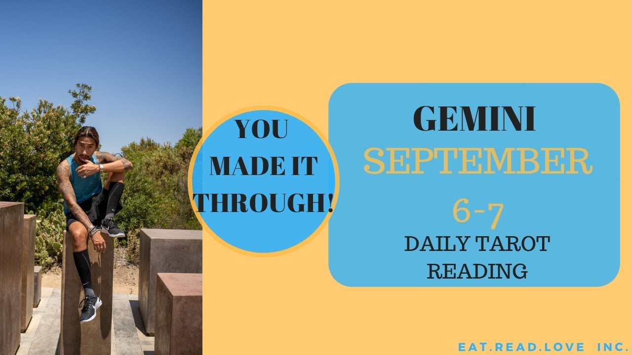 free gemini daily tarot reading