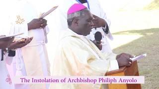 Instolation of ArchBishop Philiph  Anyolo