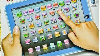Видео обзоры игрушек - Большой детский обучающий планшет Y-Pad