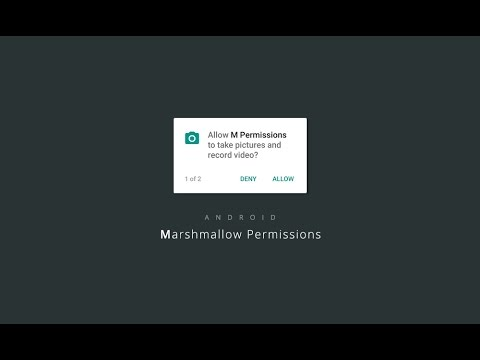 Android Working with Marshmallow (M) Runtime Permissions