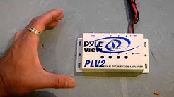 Quick Look --- Pyle PLV4 Video Distribution Amplifier