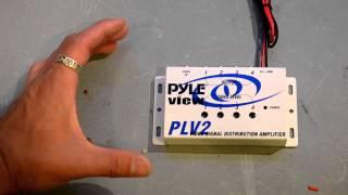 Quick Look --- Pyle PLV4 Video Distribution Amplifier