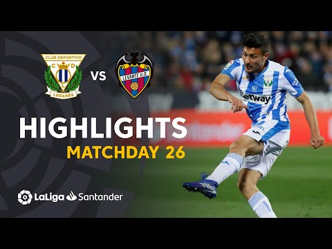 Highlights CD Leganés vs Levante UD (1-0)