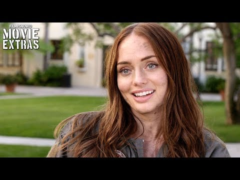 Transformers: The Last Knight  Onset visit with Laura Haddock 'Vivian Wembley'